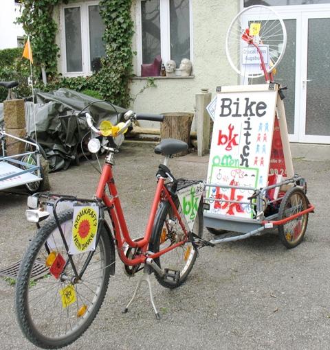 mit dem fahrrad fahrr der transportieren und andere sachen bikekitchen augsburg. Black Bedroom Furniture Sets. Home Design Ideas