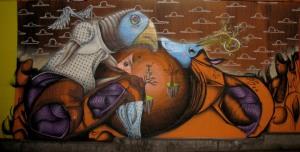 Graffiti augsburgtunnel