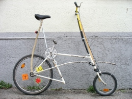 Das erste Tallbike ist entstanden...ist es nicht niedlich?