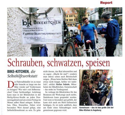augsburg journal - Bikekitchen Augsburg