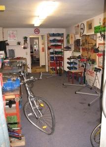 bikekitchen werkstattfläche