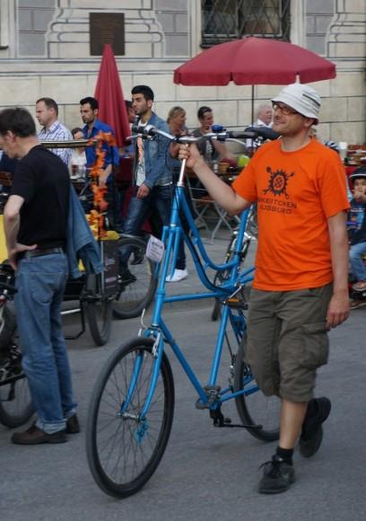 Tallbike Bikekitchen Augsburg