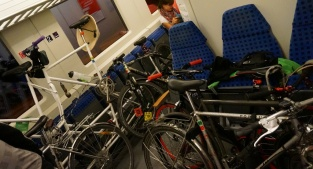 Radlnacht Zugfahrt