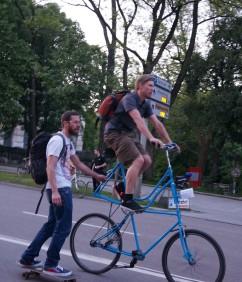 Radlnacht Skateboard