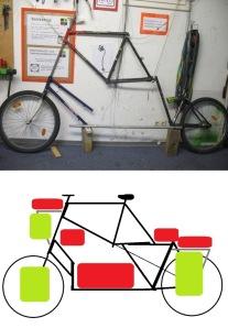 lasten  reise tandem tallbike04