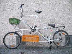 lasten  reise tandem tallbike08