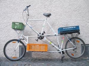 lasten  reise tandem tallbike09
