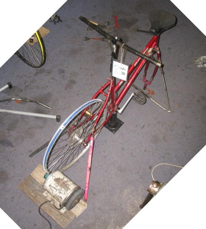 maschine pedalbetrieben