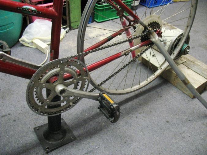 maschinenantrieb fahrrad